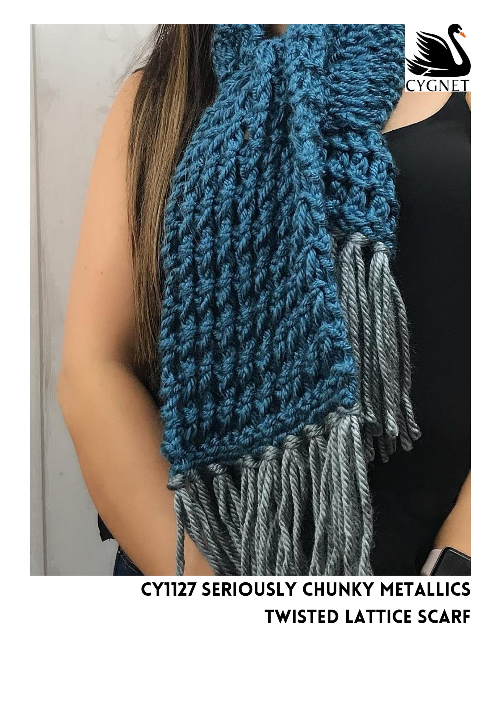 Free Scarf Pattern – Knits with Seriously Chunky Yarns