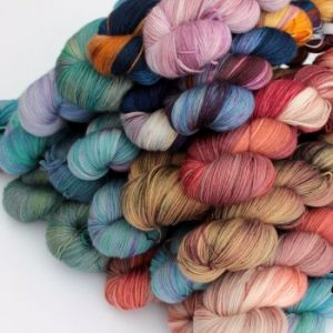 Hand Dyed Skeins