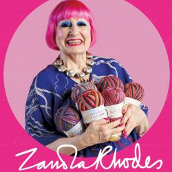 Zhandra Rhodes for West Yorkshire Spinners & WYS Xmas Yarns
